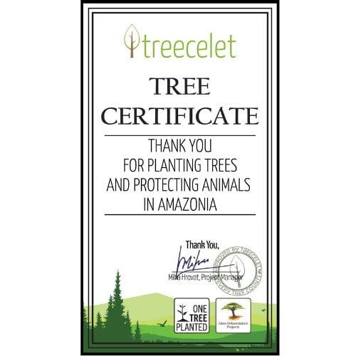 Certifikat Amazonski deževni gozd