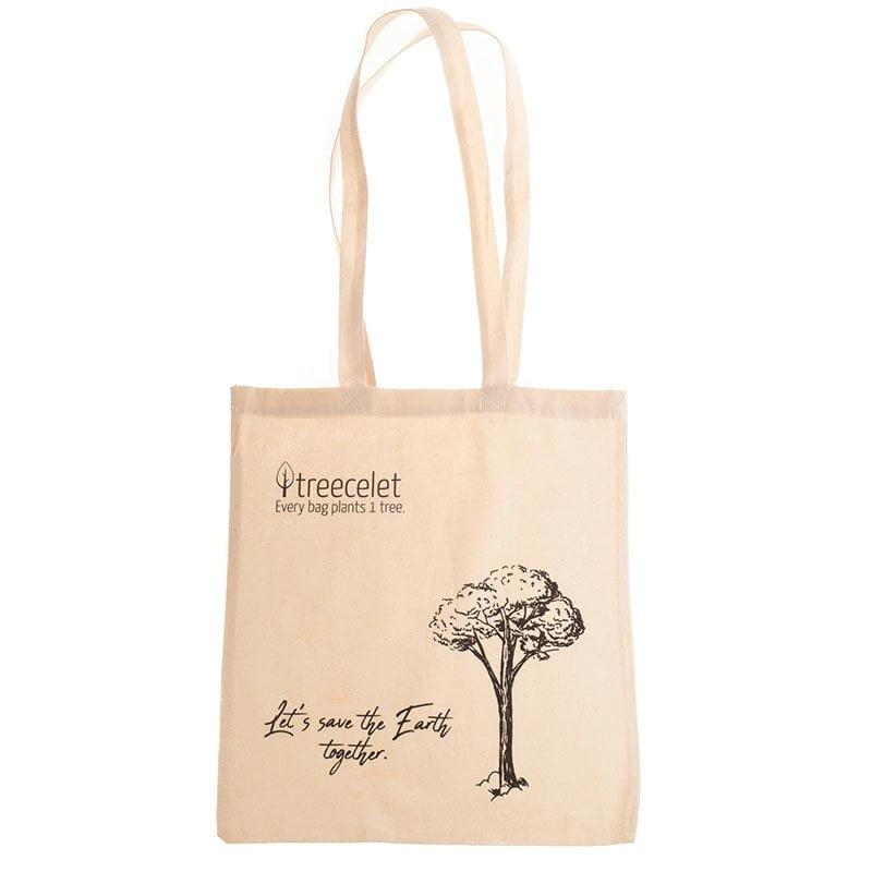 Bombažna vrečka = 1 drevo