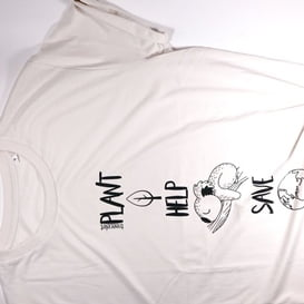 Unisex majica – Plant, Help, Save